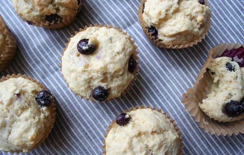 Blueberry Muffins, Muffins, Spring, Summer, Baking