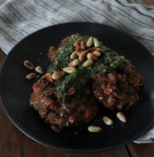 Lentil & Fennel Veggie Meatballs, The Meatball Shop