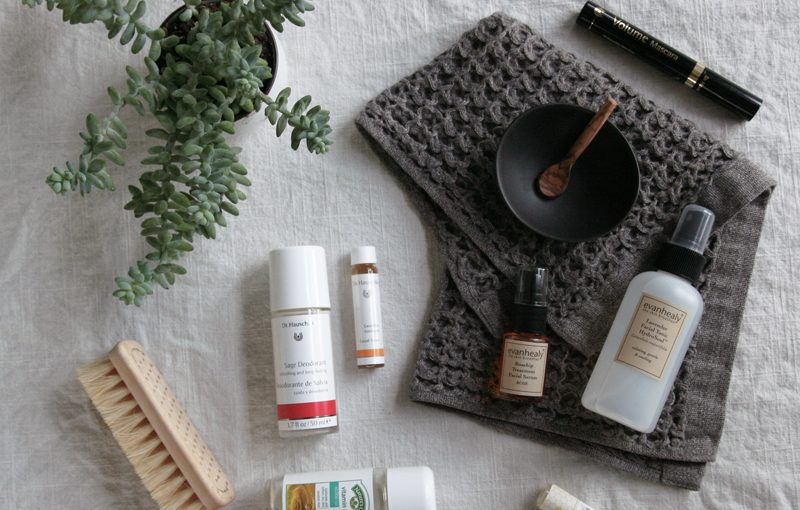natural beauty: products I love