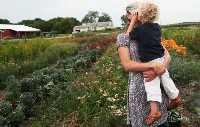 Humble Pie Farms // Ella Frances // Flower Farmer Minnesota, Twin Cities Area