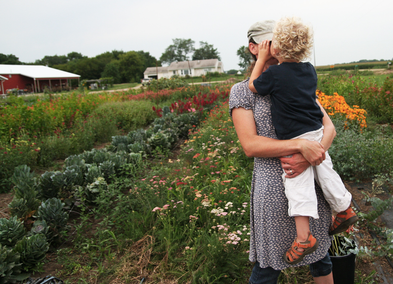Humble Pie Farms // Ella Frances // Flower Farmer Minnesota, Twin Cities Area