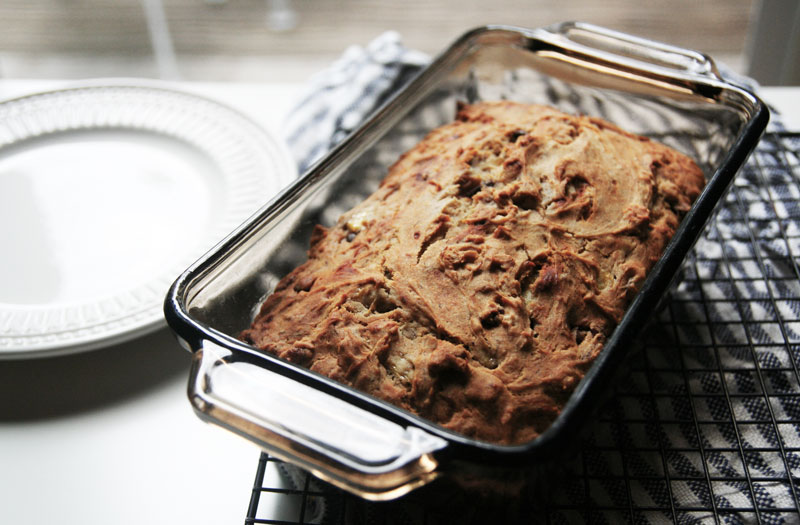 Healthy Honey Banana Bread Photo 1