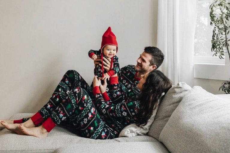 Christmas Pajamas & Hot Oatmilk Cocoa