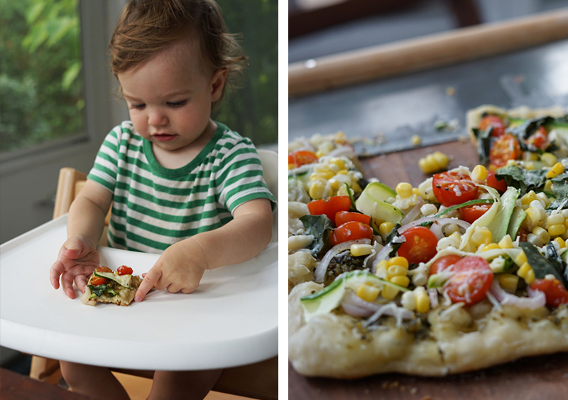 Summer Pizzas On the Grill