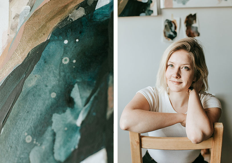 Inspired Interview // Artist Gina Gaetz