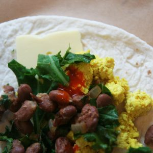 Meal Prep Breakfast Burritos Vegan, Veggie Easy 2