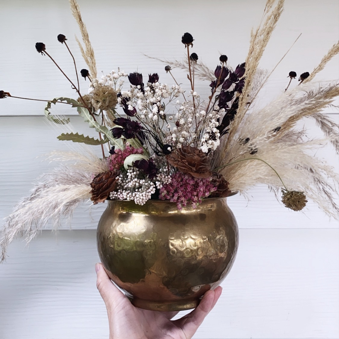 Medium Dried Floral Arrangement