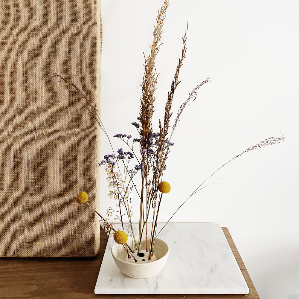Small Dried Floral Arrangement