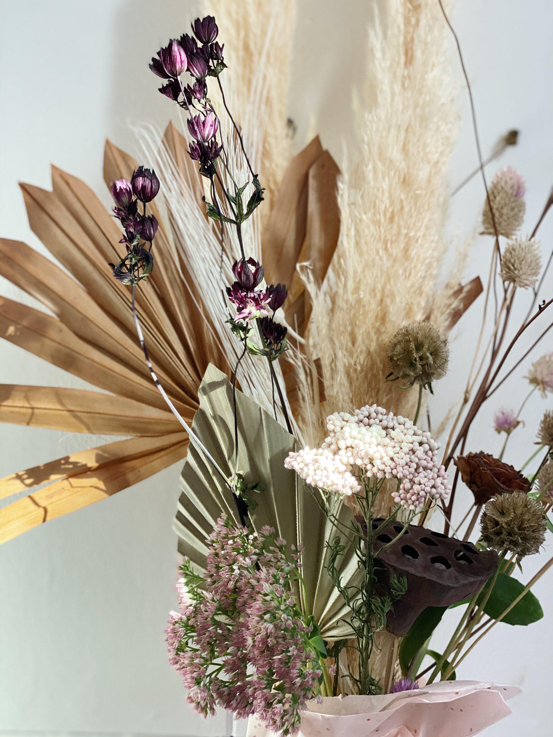 Medium Dried Floral Arrangement