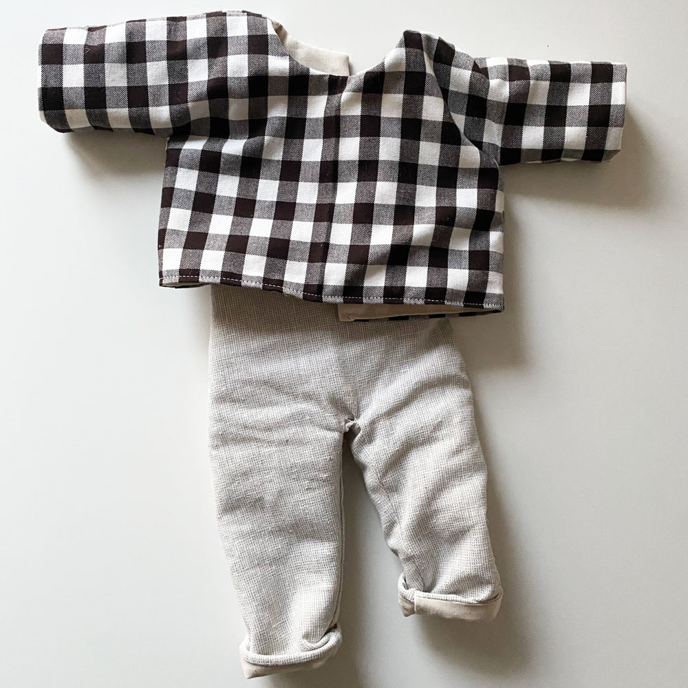 Handmade Doll - Shirt & Pants