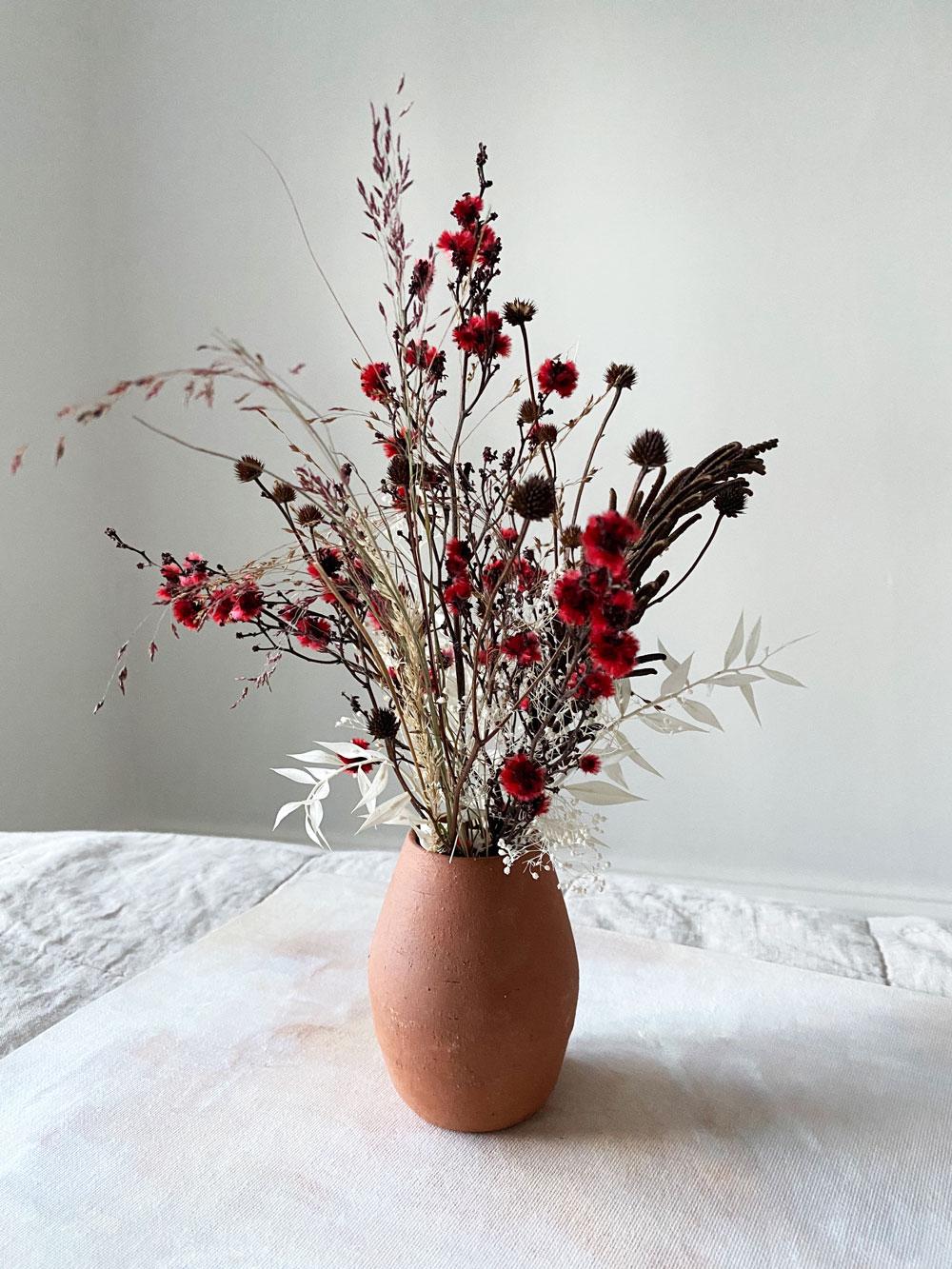 Lady Bug - Dried Floral Arrangement